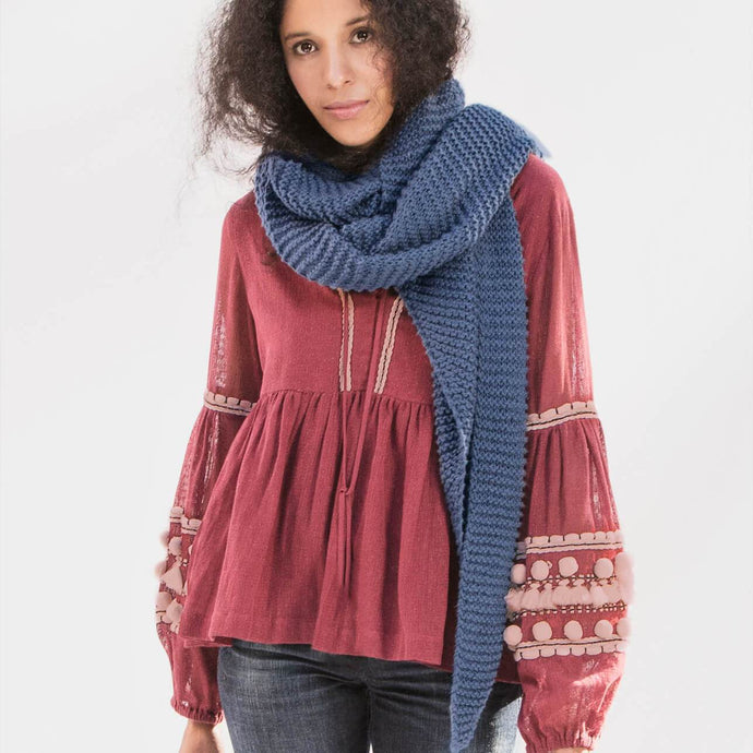 Blue Sky Fibers Waverly Wrap