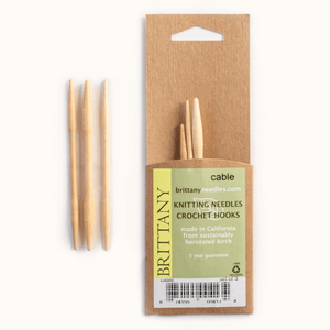 Brittany Wooden Cable Needles