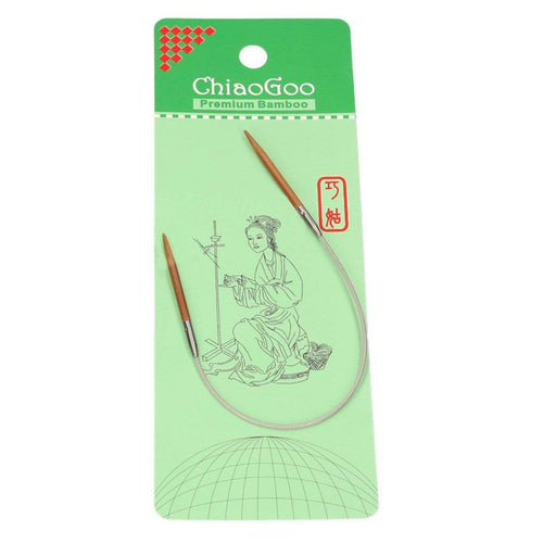ChiaoGoo Bamboo Circular Knitting Needles - WOOLS OF NATIONS