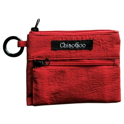ChiaoGoo Red Pocket Pouch - WOOLS OF NATIONS