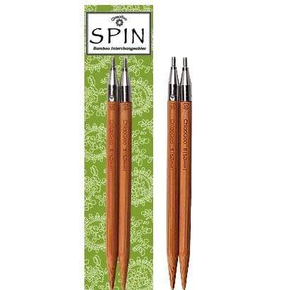 ChiaoGoo SPIN Bamboo Interchangeable Knitting Needles Tips - WOOLS OF NATIONS