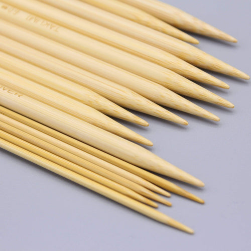 Clover Bamboo Double Pointed Knitting Needles Takumi - WOOLS OF NATIONS