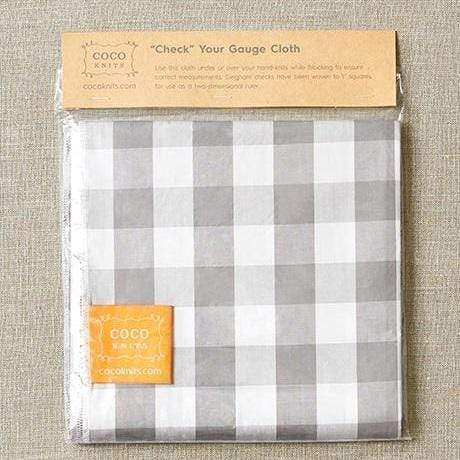 Cocoknits Check Your Gauge Cloth - WOOLS OF NATIONS