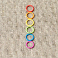 Load image into Gallery viewer, Cocoknits Colored Ring Stitch Markers - WOOLS OF NATIONS