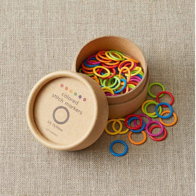 Cocoknits Colored Ring Stitch Markers - WOOLS OF NATIONS