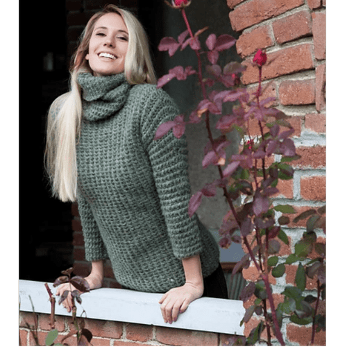 Filatura Di Crosa - Cassidy Pullover (PDF) - WOOLS OF NATIONS