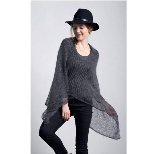 Filatura Di Crosa - Eleanor Poncho Sweater (PDF) - WOOLS OF NATIONS