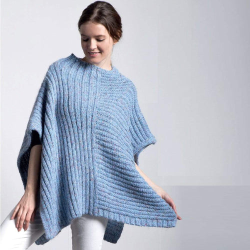 Filatura Di Crosa - Isabela Poncho (PDF) - WOOLS OF NATIONS
