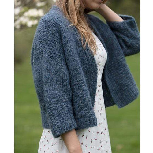 Filatura Di Crosa - Leah Cardigan (PDF) - WOOLS OF NATIONS