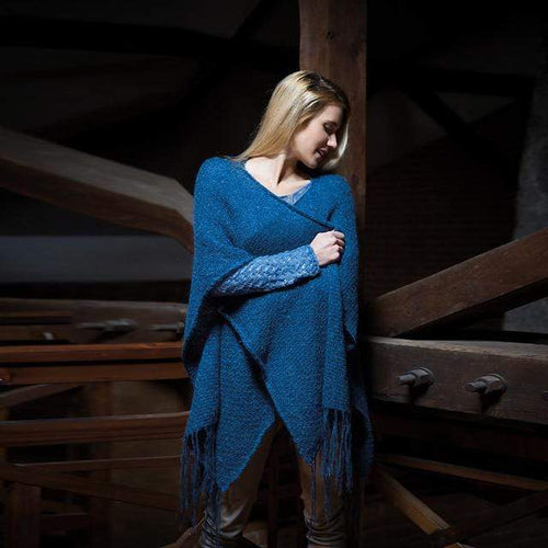Filatura Di Crosa - Meredith Cape Shawl (PDF) - WOOLS OF NATIONS