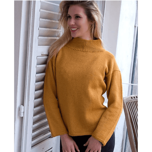 Filatura Di Crosa - Rosy Turtleneck (PDF) - WOOLS OF NATIONS