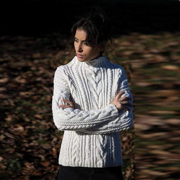 Filatura Di Crosa - Sophie Pullover (PDF) - WOOLS OF NATIONS