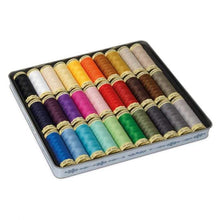Load image into Gallery viewer, Gütermann Nostalgic Box Sew-All Thread 30 Spools x 100m - WOOLS OF NATIONS