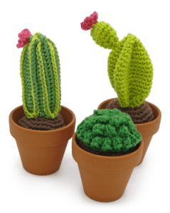 HardiCraft Cacti Crochet Kit - WOOLS OF NATIONS