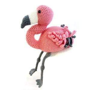 HardiCraft Coco Flamingo Crochet Kit - WOOLS OF NATIONS