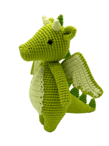 HardiCraft Dragon Doris Crochet Kit - WOOLS OF NATIONS