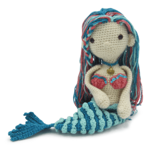 HardiCraft Mila Mermaid Crochet Kit - WOOLS OF NATIONS
