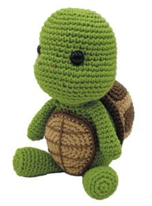 HardiCraft Siem the Turtle Crochet Kit - WOOLS OF NATIONS