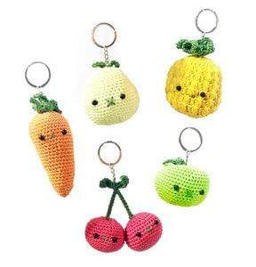 HardiCraft Fruit & Vegetables Bag Hangers - WOOLS OF NATIONS