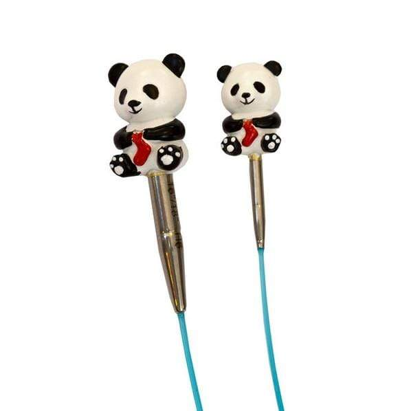 HiyaHiya Panda Cable Stoppers - WOOLS OF NATIONS