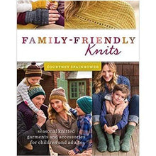 Load image into Gallery viewer, Family Friendly Knits by Courtney Spainhower - WOOLS OF NATIONS