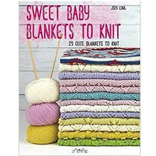 Load image into Gallery viewer, Jody Long Broderie Anglaise Blanket (from Sweet Baby Blankets Book) - WOOLS OF NATIONS
