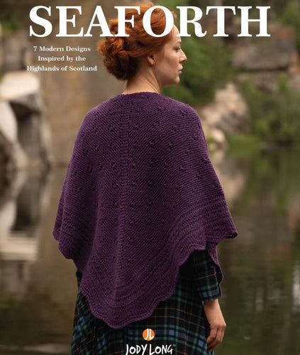 Jody Long Seaforth Book (7 Patterns) - WOOLS OF NATIONS