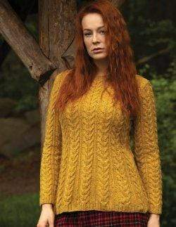 Jody Long Arran Sweater (PDF) - WOOLS OF NATIONS