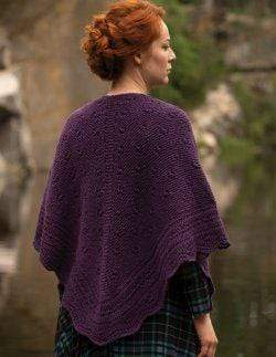 Jody Long Skye Shawl (PDF) - WOOLS OF NATIONS