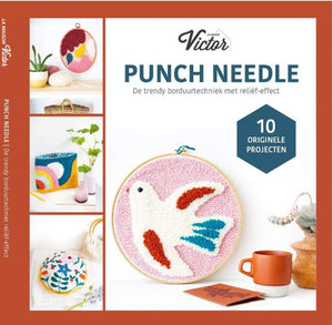 Punch Needle by Agnès Pironon: 10 Originele Projecten (NL) - WOOLS OF NATIONS