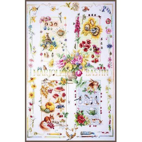 Lanarte Four Seasons Cross Stitch Kit - WOOLS OF NATIONS