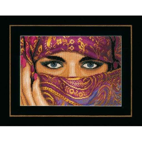 Lanarte Oriental Mystery Cross Stitch Kit - WOOLS OF NATIONS