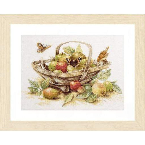 Lanarte Summer Fruit Cross Stitch Kit - WOOLS OF NATIONS