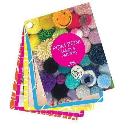 Loome Fan Book: Pom Pom Basics & Patterns - WOOLS OF NATIONS