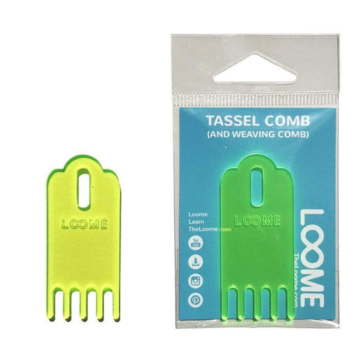 Loome Tassel Comb - WOOLS OF NATIONS