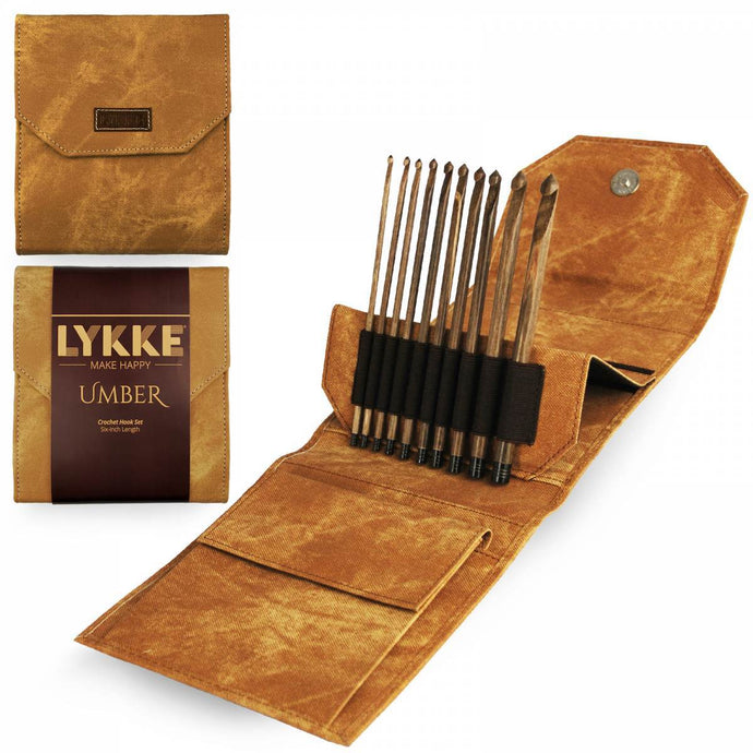 Lykke Umber 6'' Crochet Hook Set - WOOLS OF NATIONS