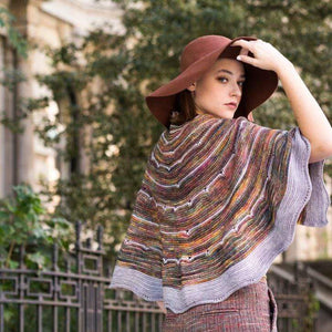Malabrigo Book 13 - SHAWL ROAD - A Journey With Hand-Painted Yarns - WOOLS OF NATIONS