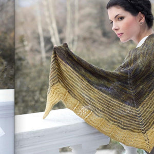 Malabrigo Scalloped Shawl Kit
