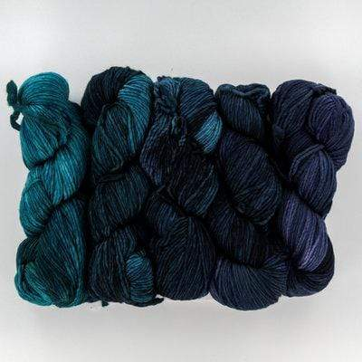 Malabrigo Merino Worsted Gradient Pack - WOOLS OF NATIONS