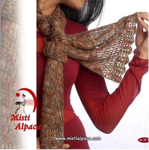 Misti Alpaca - Reversible Scarf (FREE) - WOOLS OF NATIONS