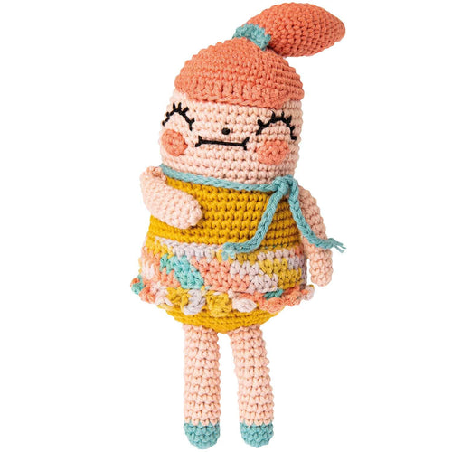 Rico Design Ricorumi Crazy Cute Family Girl Crochet Kit - WOOLS OF NATIONS