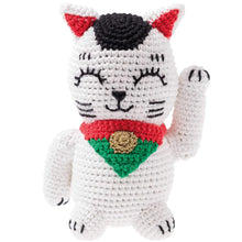 Load image into Gallery viewer, Rico Design Ricorumi Lucky Cat Crochet Kit - WOOLS OF NATIONS