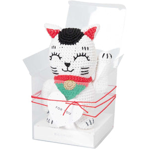 Rico Design Ricorumi Lucky Cat Crochet Kit - WOOLS OF NATIONS