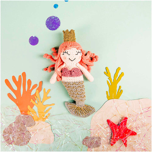 Rico Design Ricorumi Mermaid Crochet Kit - WOOLS OF NATIONS