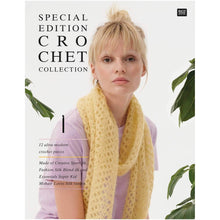 Load image into Gallery viewer, Rico Design Mustard Top Crochet Kit -Silk - WOOLS OF NATIONS