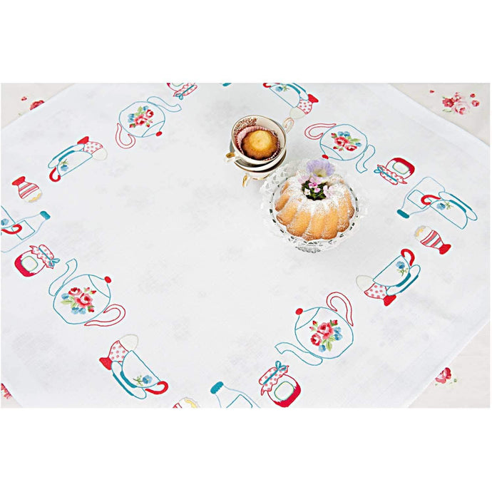 Rico Design Breakfast Tablecloth Embroidery Kit - WOOLS OF NATIONS