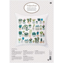 Laden Sie das Bild in den Galerie-Viewer, Rico Design Cacti Cushion Cross Stitch Kit - WOOLS OF NATIONS