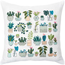 Load image into Gallery viewer, Rico Design Cacti Cushion Cross Stitch Kit - WOOLS OF NATIONS