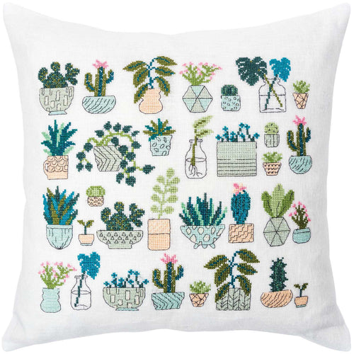 Rico Design Cacti Cushion Cross Stitch Kit - WOOLS OF NATIONS