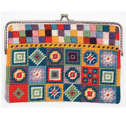 Rico Design Coin Purse Tapestry Kit - WOOLS OF NATIONS